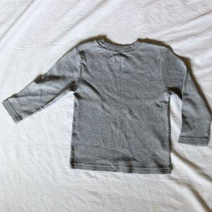 Grey Thermal Long Sleeve